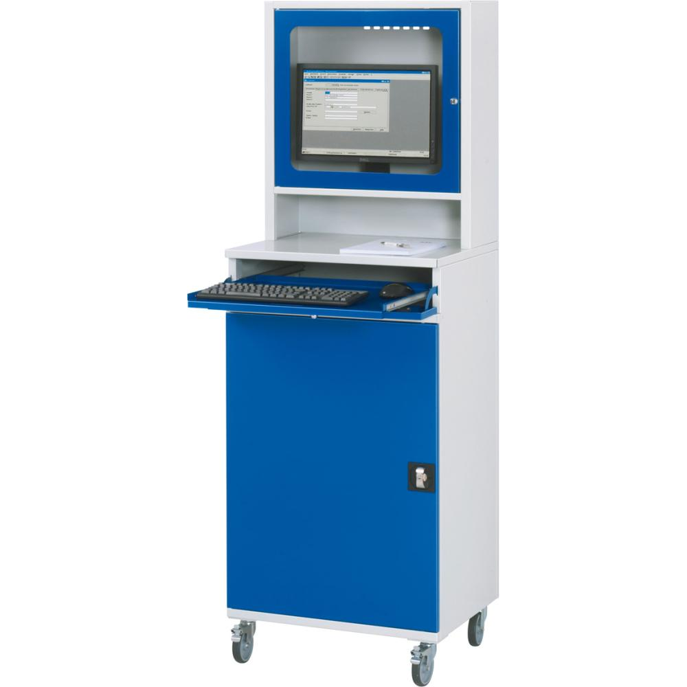 Computer-Schrank 650x520x1860 7035/5010 7830570788 PREMIUM ...